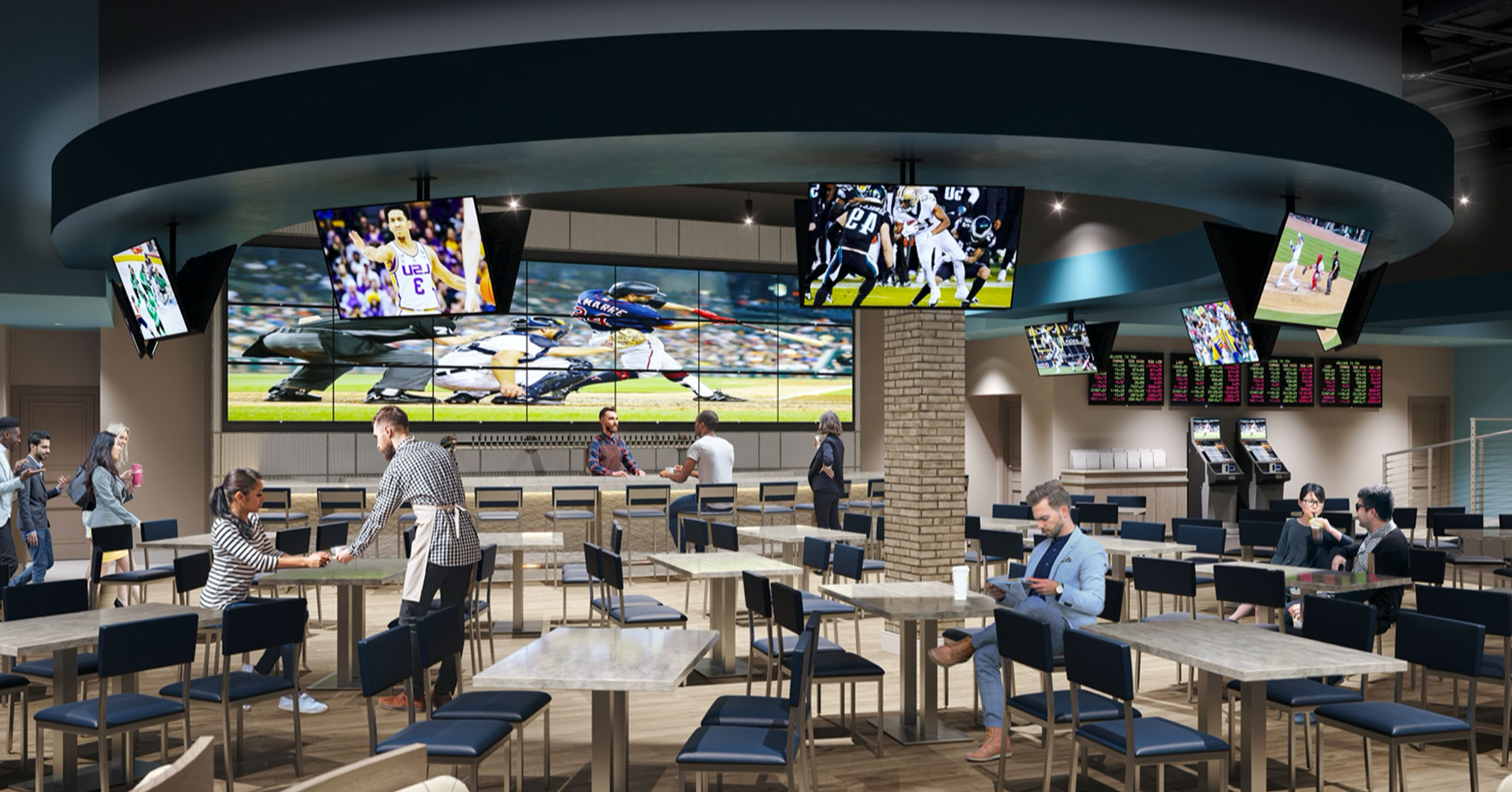 The Draft Room Sports Bar Opens in Paragon Casino Resort | Paragon Casino Resort and Hotel